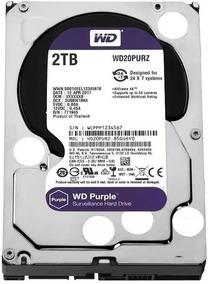 Hd 2tb Purple 2 Tera Western Wd Cftv Dvr Wd20purz