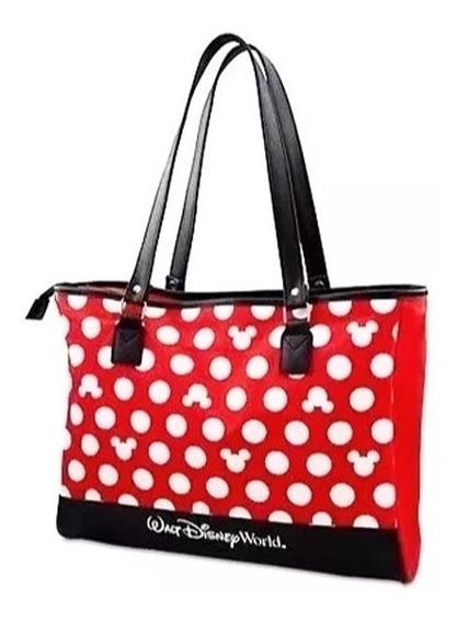Bolsa Feminina Mickey Exclusividade Disney Original Bolinhas
