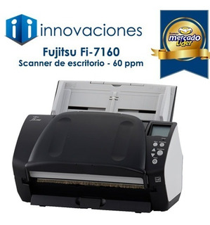 Scanner Escaner Documento Fujitsu Fi7160 A4 60/120 Ppm Nuevo