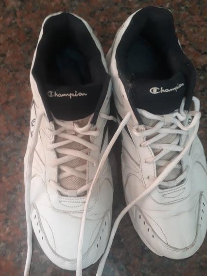 Zapatillas Blancas Champion Numero 14