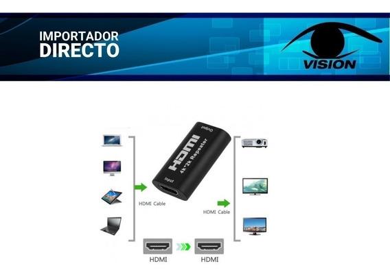 Extensor / Repetidor Hdmi Hasta 40 Mts - 1080p 3d 4k * 2k X2