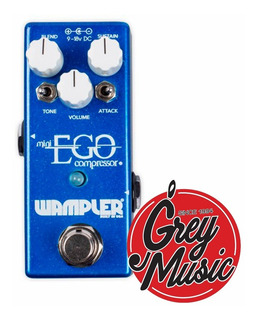 Pedal Wampler Mini Ego Compressor - Grey Music -