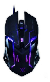 Mouse Gamer Rgb 6d 3200dpi, Infokit Xsoldado Gm-600