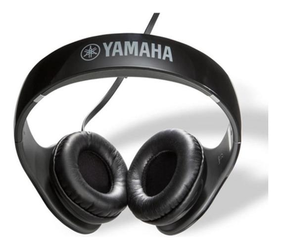 Fone De Ouvido E Microfone Hph-pro300 Racing Preto Yamaha