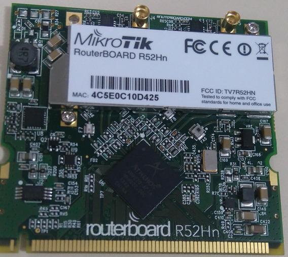 Mikrotik Cartão Mini-pci R52hn Routerboard 802.11 A/b/g/n