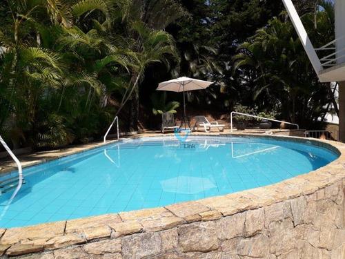 Casa Com 4 Dormitórios, 650 M² - Venda Por R$ 2.600.000,00 Ou Aluguel Por R$ 15.000,00/mês - Residencial Dez (alphaville) - Santana De Parnaíba/sp - Ca1092