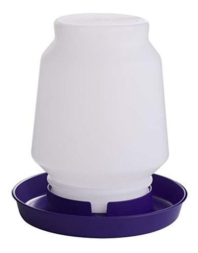 Imagen 1 de 1 de Tarro De Plástico Para Aves De Corral En Color Púrpura