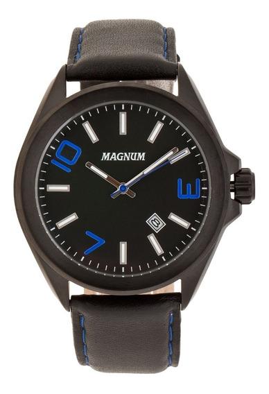 Relógio Magnum Masculino Original Preto Ma34370f