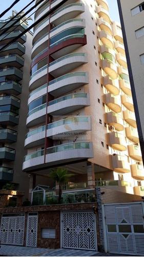 Apartamento À Venda No Bairro Guilhermina - Praia Grande/sp - 307