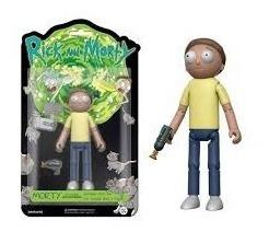 Figura Rick And Morty Morty Articulado Funko Orangegame