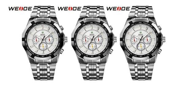 Relógio De Pulso Weide Wh-1010 Caixa Com 3 Unidades Promocional
