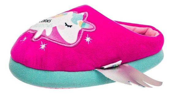 Pantunfla Niña Dama Unicornio Arra Oxrr400012 Fucsia S4