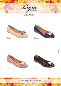 Sapatilha Feminina Adulta Ligia Calçados Especial Extra 1450