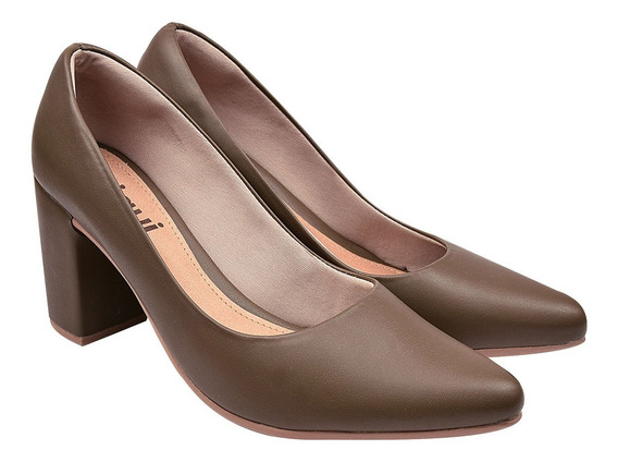 Scarpin Sapato Feminina Chiquiteira Chiqui/5417419