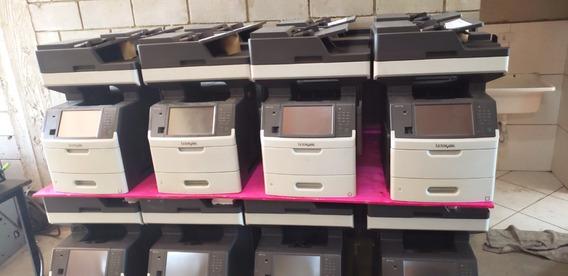 Lote Impressoras Multifuncionais Lexmark Mx711de 10u