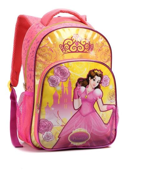 Mochila Infantil Menina Escolar Bolsa 13896 Resistente Linda