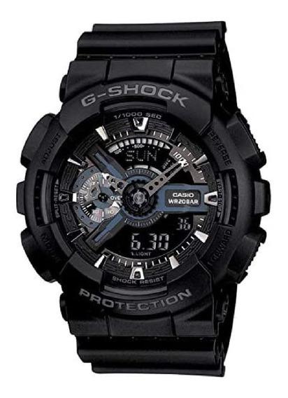 Relógio Casio G-shock Masculino Ga-110 Preto Frete Grátis!!