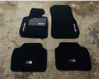 ultramar Piso tapetes para BMW 7 series E32 en terciopelo azul oscuro Deluxe