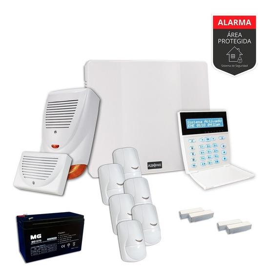 Alarma Para Casa+ Sensor Magnetico+movimiento Kit-cableado