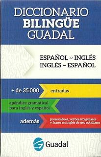 Libro Diccionario Bilingue Ingles - Castellano Castellano