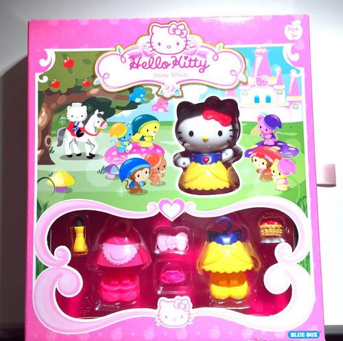 Imagen 1 de 4 de Hello Kitty Blancanieves Set De Juego Nuevo Importado