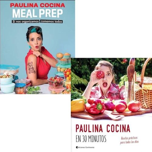 Imagen 1 de 4 de Pack Paulina Cocina - Meal Prep + En 30 Minutos