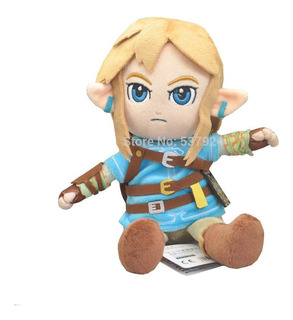 Peluche Link Zelda Breath Of The Wild 28cm Envío Gratis