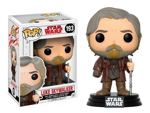 Imagen 1 de 3 de Funko Pop Star Wars #193 Luke Skywalker Pata's Games & Toys