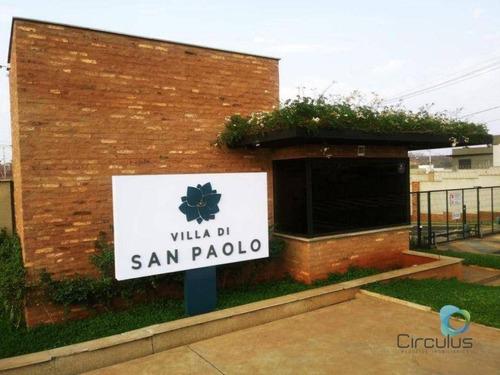 Imagem 1 de 7 de Terreno À Venda, 507 M² Plano -villa Di San Paolo-quintas De São José - Ribeirão Preto/sp - Te1625