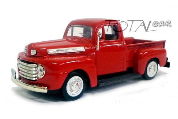 Ford F-1 Pickup 1948 1:43 Yatming Vermelha