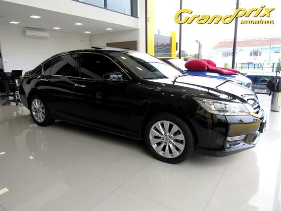 Accord 2013 3.5 Ex V6 24v Gasolina 4p Automático Preto Com