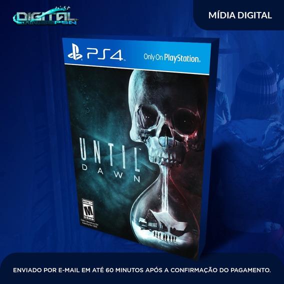 Until Dawn Ps4 Psn Jogo Digital Envio Digital Imediato