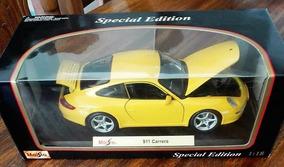Porsche 911 Carrera A Escala 1:18 Maisto