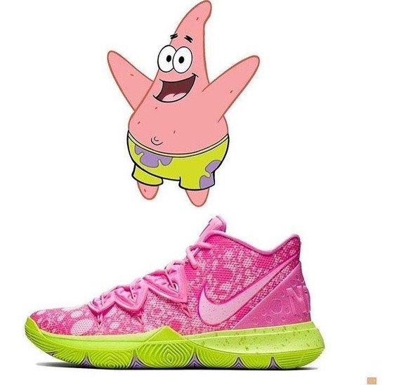 Zapatillas Nike Kyrie 5 Patricio Estrella (bob Esponja)