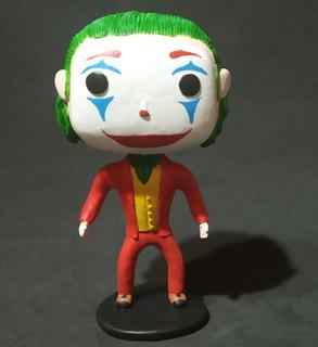 The Joker 2019 (guason), Simil Funko Pop, Porcelana Fria