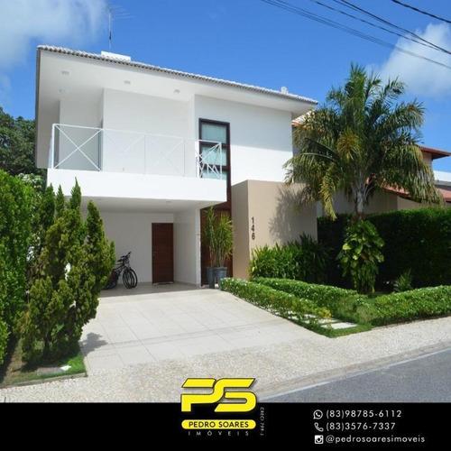 Casa Com 4 Dormitórios À Venda, 375 M² Por R$ 1.750.000 - Altiplano - João Pessoa/pb - Ca0663