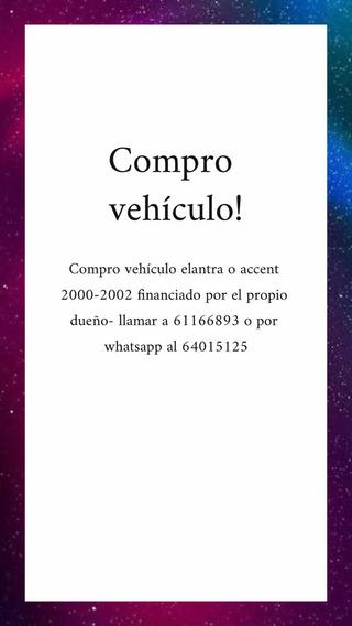 Accent O Elantra Busco 2000 - 2002