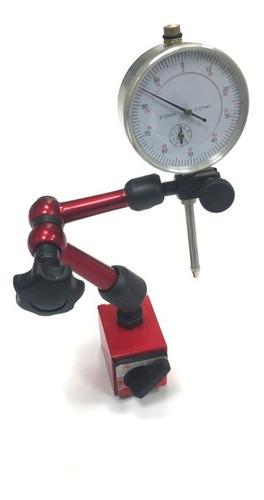Comparador De Caratura Dial Mas Base Magnetica 0 A 30mm 0.01