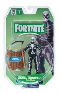 Fortnite - Skull Trooper Articulado 10cm Original - Fnt0073