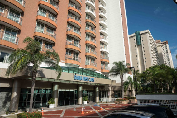 Flat Na Barra Da Tijuca - Rj No Pool , 02 Dorms ,60m² - Sf25679