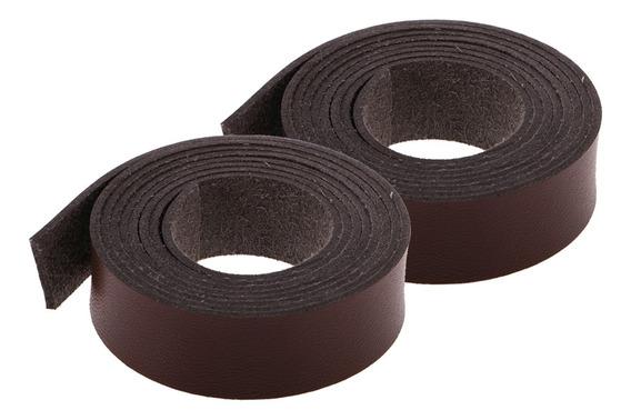 2 Piezas De Bricolaje Cinturón De Cuero Sintético 15mm