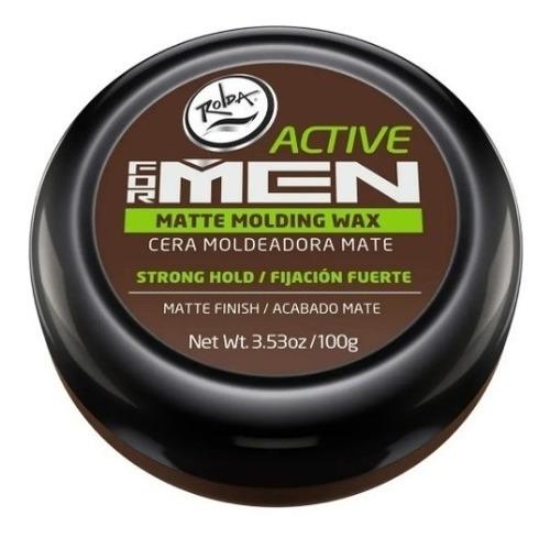 Rolda Active For Men Cera Moldeadora Mate