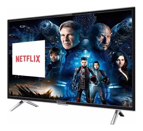 Imagen 1 de 6 de Tv Smart Hitachi 55 Pulgadas Led 4k Ultrahd Cdh-le554ksmart
