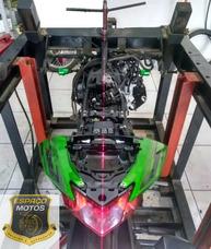 Alinhamento Chassi Moto