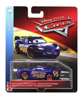 Auto Metal Disney Cars Fabuloso Mcqueen - Original- E.full