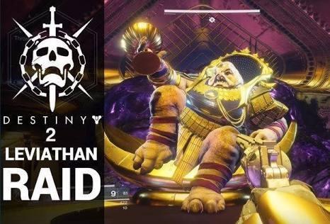 Raid Leviatã Prestigio Destiny 2