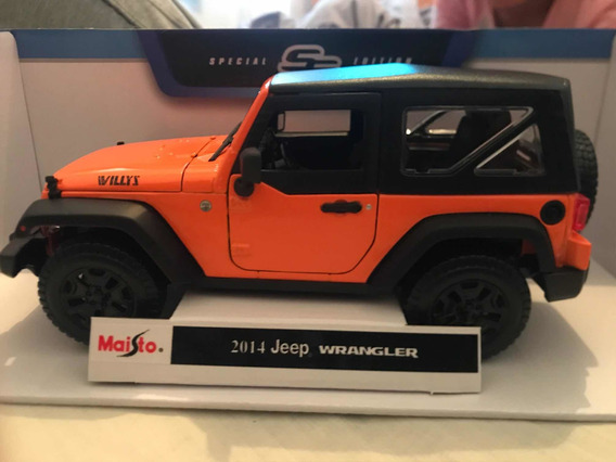 Jeep A Escala 1:18