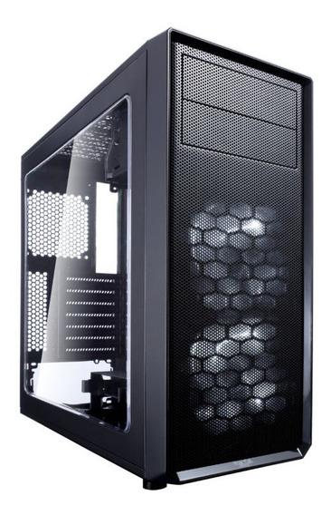 Gabinete Gamer Fractal Design Focus G Gray , Atx