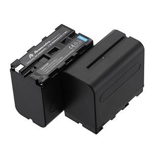 Powerextra Pack De 2 Reemplazo De Sony Np-f970 8800mah Bater
