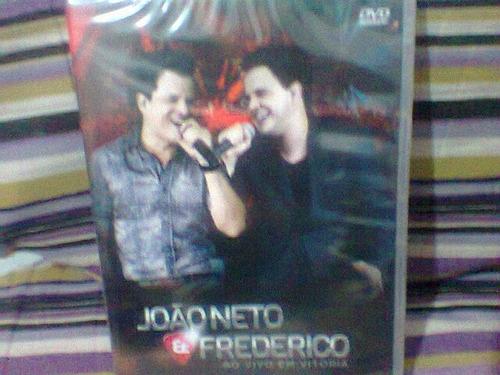 Dvd João Neto @ Frederico -em Vitória-(lacrado) Frete Grátis